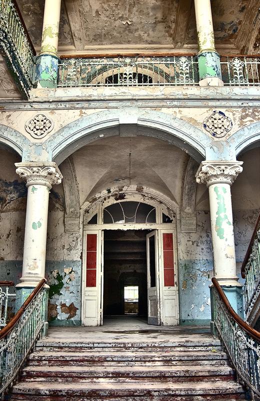 Eingangsbereich zum Männerhaus