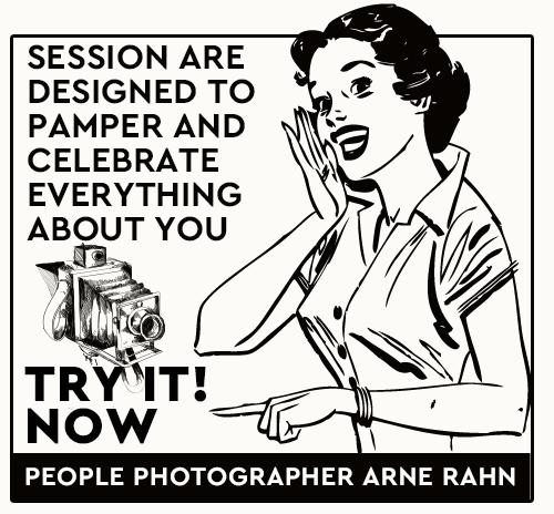 Vintage Anzeige Arne Rahn Photography