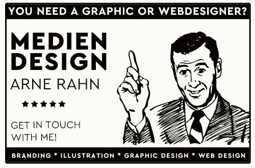 Vintage Anzeige Mediendesign Arne Rahn