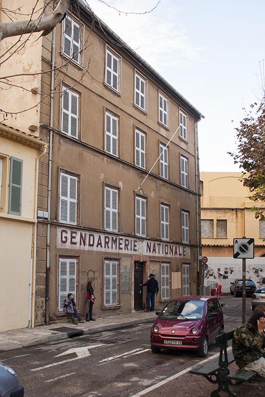 Die Gendarmerie National, das Alte Polizeirevier in Saint Tropez