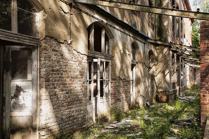 Das Südgebäude der Volksheilstätten am Grabowsee