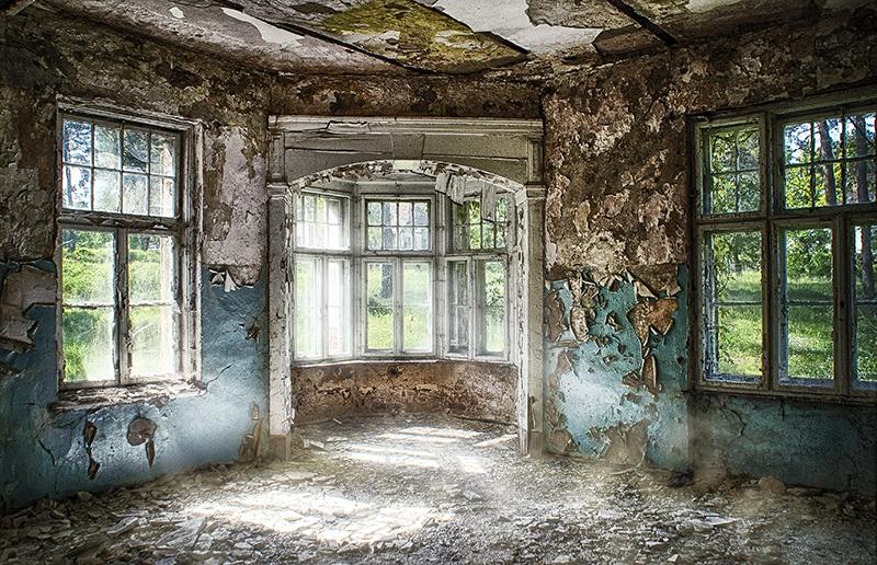 Schlafhaus in der Heilanstalt Hohenlychen