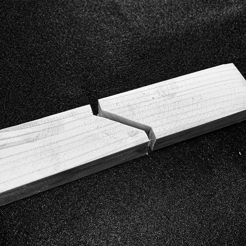 Holzverbindungen - Gerberstoss