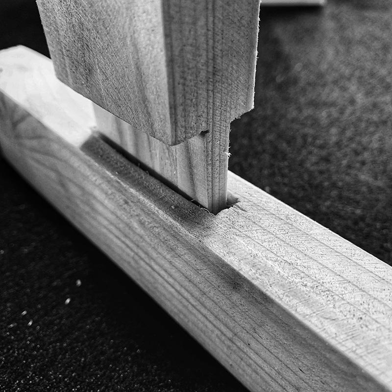 Holzverbindungen - Zapfen