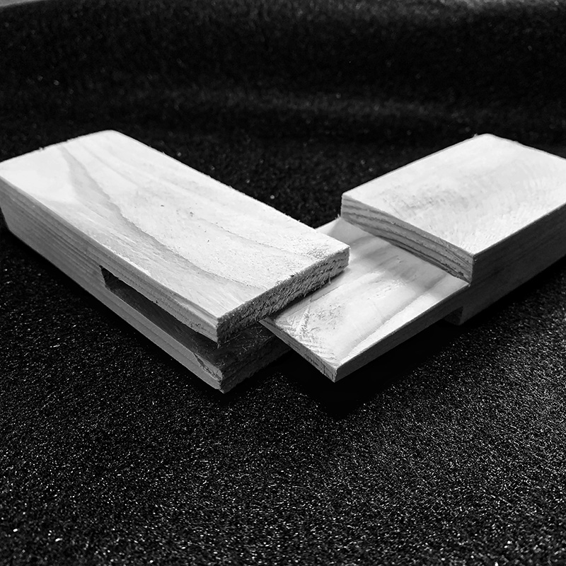 Holzverbindungen - Scherzapfen
