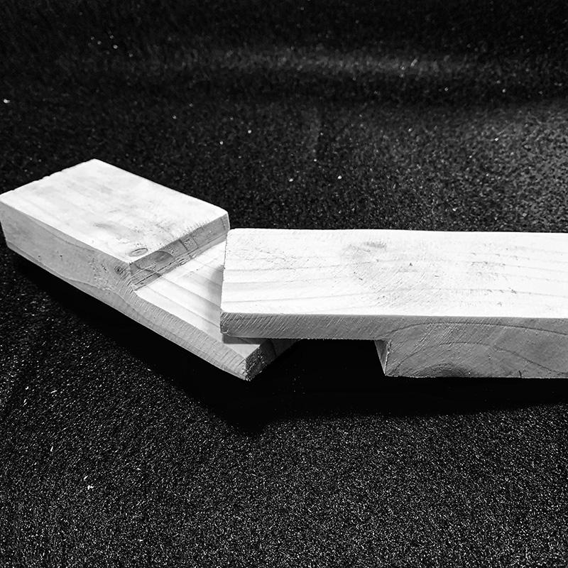 Holzverbindungen - Glatte Platte