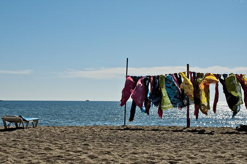 Das Mittelmeer unweit von Antalya auf unserer Kappadokien Rundreise