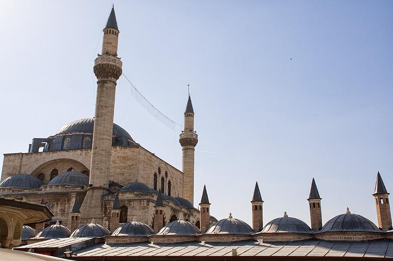 Konya - Über den Dächern der Moschee - Kappadokien Rundreise