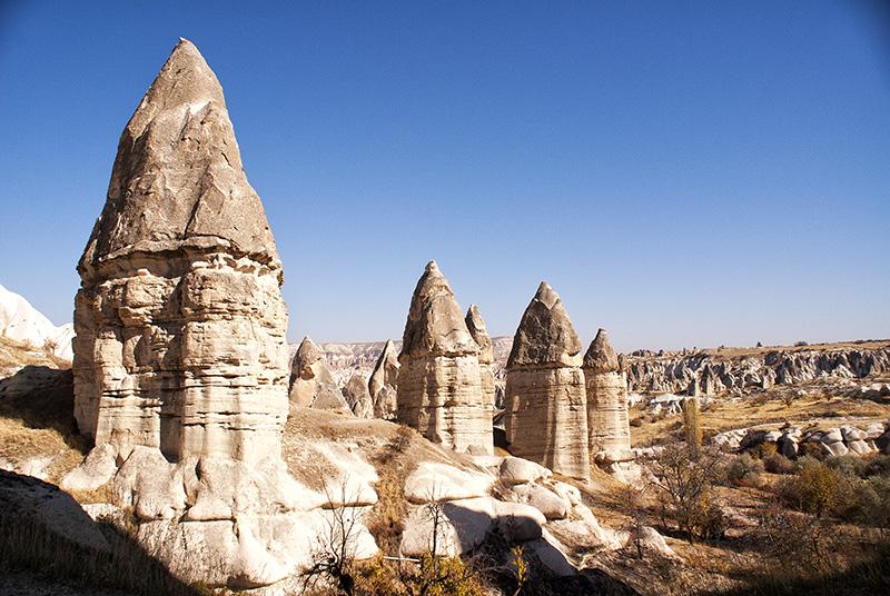 Görkündere Valley - Blick in eine aussergewöhnliche Landschaft - Kappadokien Rundreise