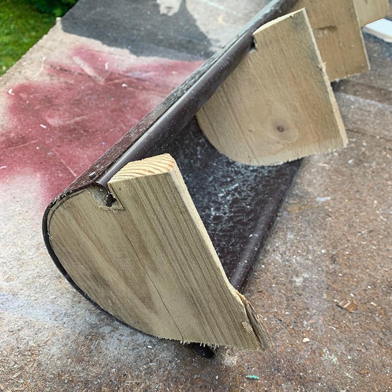 Der Möbelbau im Campervan - Eine DIY Biegeform um runde Bauelemente herzustellen