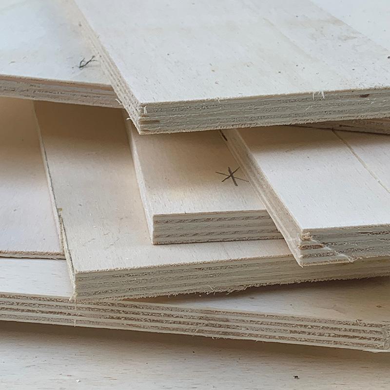 Der Möbelbau im Campervan - Grundmaterial, die Sperrholzplatte