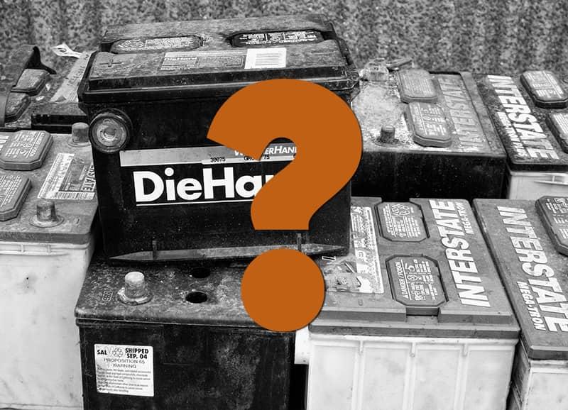 Die Wahl der richtigen Batterie - ein sorgfältige Entscheidung bei der Camper Elektrik